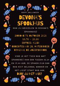 Halloween spookhuis Devona